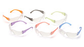 Pyramex Mini Intruder Multi-Color Safety Glasses 12 Pack