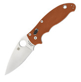 Spyderco Manix 2 Rex 45 Burnt Orange Folding Knife Sprint Run