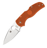 Spyderco Native 5 Lightweight Rex 45 Burnt Orange Folding Knife Sprint Run