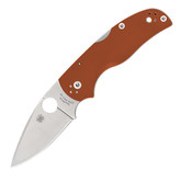 Spyderco Native 5 Rex 45 Burnt Orange Folding Knife Sprint Run