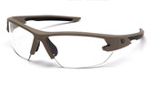 Venture Gear Semtex 2.0 Clear Anti Fog Lens with Tan Frame