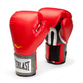 Everlast Pro Style Training Boxing Gloves Red 14 oz