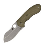 Spyderco Bombshell Flash Batch Olive Drab G-10 CPM2 Folding Knife