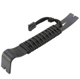 Schrade SCHPB1BK Pry Bar With 550 Paracord Handle