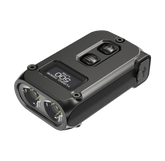 Nitecore TINI 2 500 Lumens Dual-Core Intelligent with OLED Display Keychain Light Black