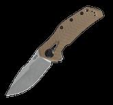 Zero Tolerance 0308 Flipper G10 Coyote Folding Knife