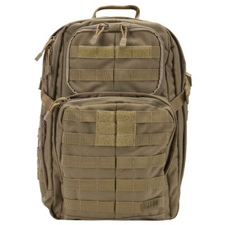 8507ccc8334b 5.11 Tactical Rush 24 Backpack is made of water-resistant 1050-denier nylon