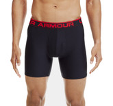 "Under Armour Men's Original Series 6"" BoxerJock Boxer Briefs Black XXL"