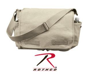 a8a750817a2b Rothco Vintage Heavyweight Canvas Classic Messenger Bag - Tactical ...