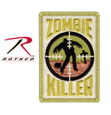 Rothco Zombie Killer Patch with Hook Back