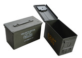 .50 Cal Ammo Can (R9102) , US-issued .50 Caliber military ammo cans