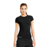 Under Armour Women's UA Tactical Heatgear Compression T-Shirt (1235253)  Lightweight stretch construction improves mobility and accelerates dry time