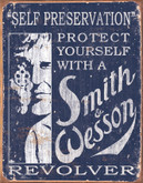 Tin Sign Smith & Wesson