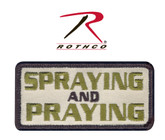 Rothco Spraying / Praying Patch with Hook Back