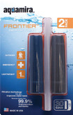 Aquamira Frontier Emergency Filter Two Pack can filter up to 30 gallons with the Frontier™ Filter by Aquamira®