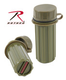 Rothco Plastic Matchbox Olive Drab