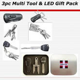 Swiss+Tech 3 pc Gift Tin - Utili-Key, Micro-Max and Swivel
