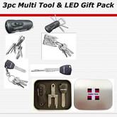 Swiss+Tech 3 pc Gift Tin - Utili-Key, Micro-Max and Swivel