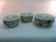 Vivaldi - Grape Ceramic Bowl Set of 3