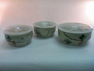 Vivaldi - Grape Ceramic Bowl Set of 3