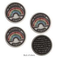 Rainbow Kindness Tokens, Set of 3