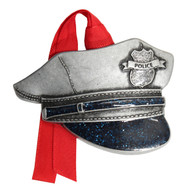 Police Hat Christmas Ornament