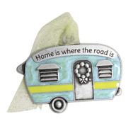 Retro Camper Christmas Ornament