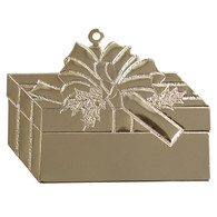 Goldtone Giftbox with imprint
