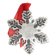 Pewter Snowflake with imprint