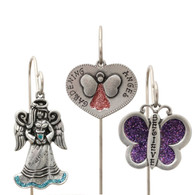 3-Piece Garden Stake Set - Angels