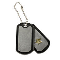 Pewter Dog Tags with Imprint