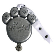 Pewter Cat Paw