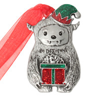 Yeti Christmas Ornament