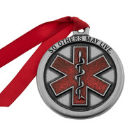 Pewter EMT Ornament