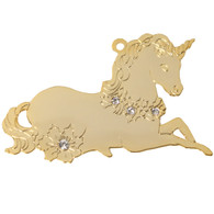 Goldtone Unicorn