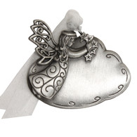 Genuine Pewter Angel on Cloud