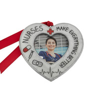 ornament-nurse-first responders-pewter-christmas ornaments