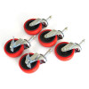 Grit Guard 5 Caster Bucket Dolly Wheels
