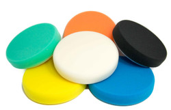"6 pack Mix n Match 6 1/4"" Buff and Shine Foam Pads"