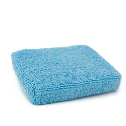 Blue Microfiber Applicator Pad