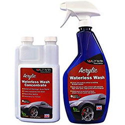 Ultima Acrylic Waterless Wash Concentrate 16 oz. Bundle w/Bottle