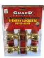 LOCKSET ENTRY 2PK 1-KEY USE