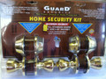 LOCKSET HOME SECURITY KIT PB