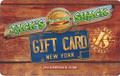 Jack's Shack Gift Card can be purchased in $25 increments.  Make sure you buy enough for all your family and friends.