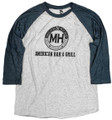 Baseball Denim Long sleeve and Grey body