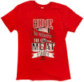 Tee Home IS.. Red Short Sleeve