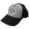 Grey Black Baseball Cap