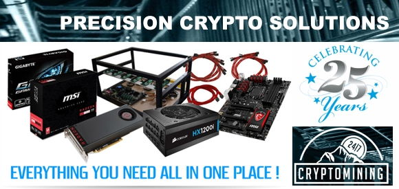 Crypto Currency Mining PC Rig & Solutions
