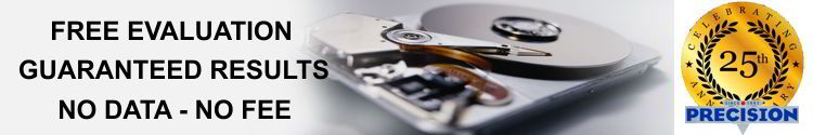hard disk data recovery results