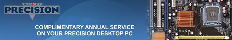 precision computer service banner
